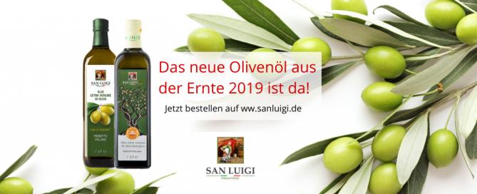 DAS NEUE OLIVENÖL 2019 ist da - www.sanluigi.de