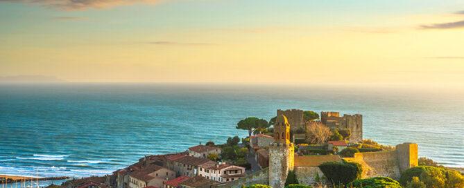 Castiglione della Pescaia - Strände, Altstadt und Besuch der Ölmühle San Luigi mit Verköstigung