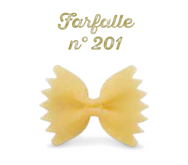Toskanische Nudeln-Farfalle – n° 201 auf Bronze gezogen