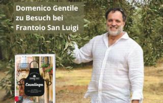 Domenico Gentile zu besuch bei Frantoio San Luigi