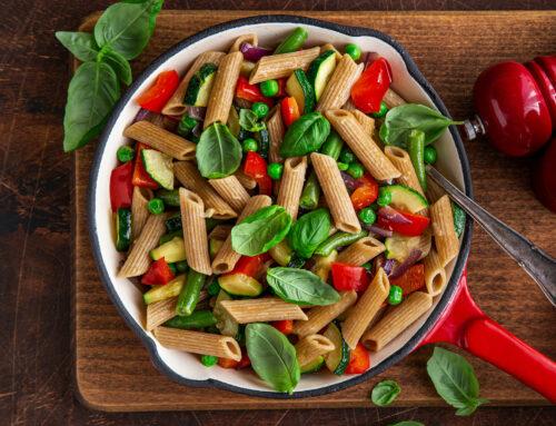 Toskanische Gemüse-Nudel-Pfanne